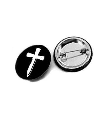 """Cruzmachete"" button 31mm."
