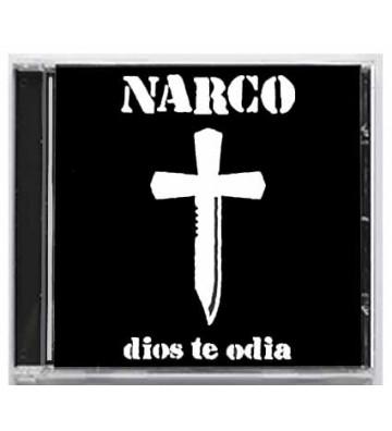 "CD NARCO ""dios te odia"""
